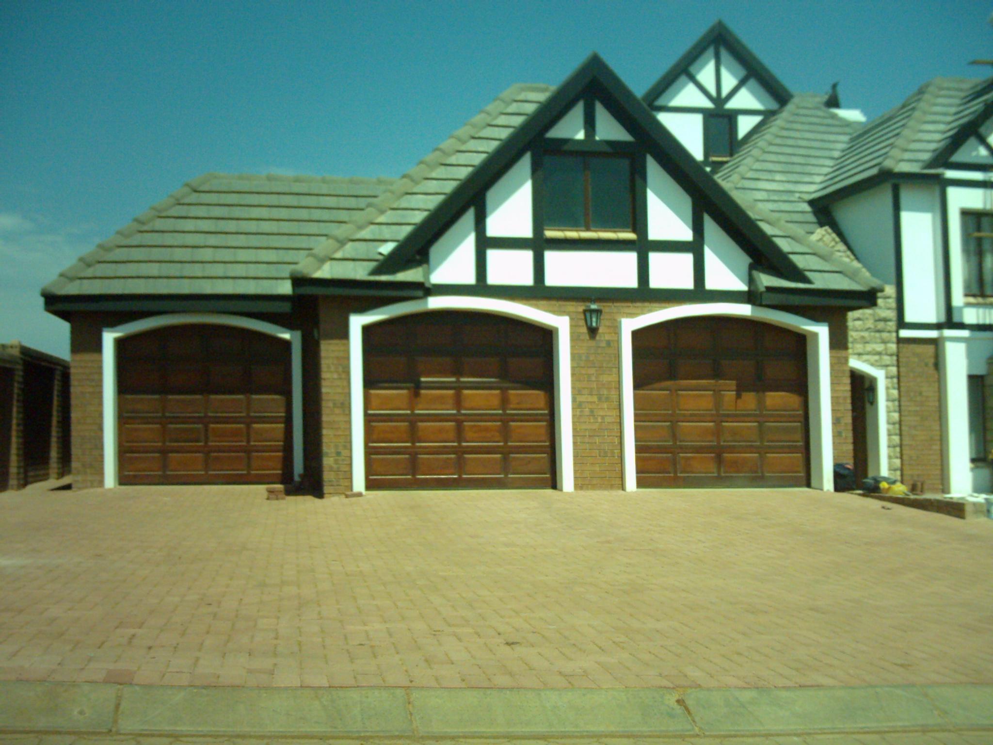 20 Panel Single Garage Door